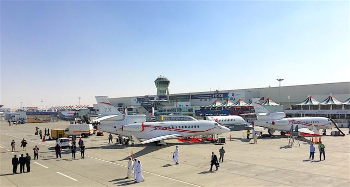 webfx makes an appearance at the Dubai Airshow
